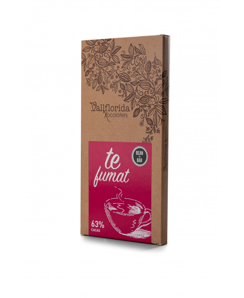 Bean to bar - Tè fumat 63%...
